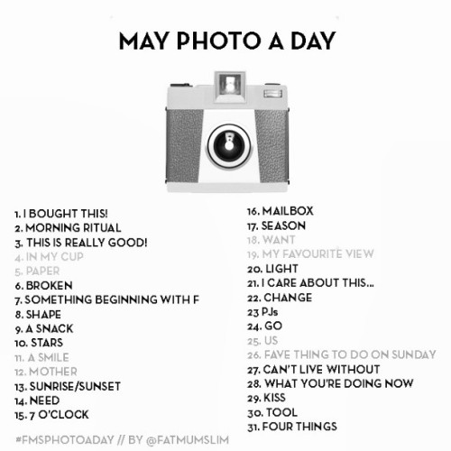 #May #Photochallenge #2013 #neverfinished