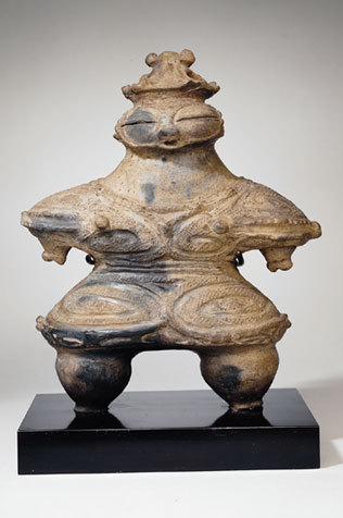 centuriespast:  Female figure Japan, Aomori Prefecture; Final Jomon period (1000-300 B.C.E.) Asia Society