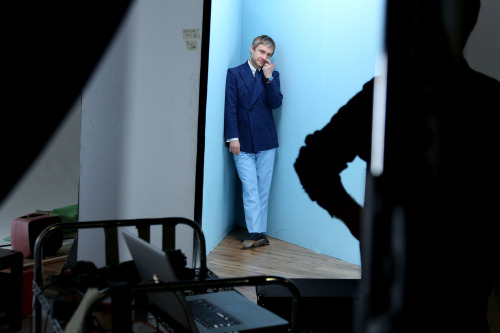 Martin Freeman, Bafta behind the scenes TV Award Photo shoot Holborn studios April 2013 [X]
