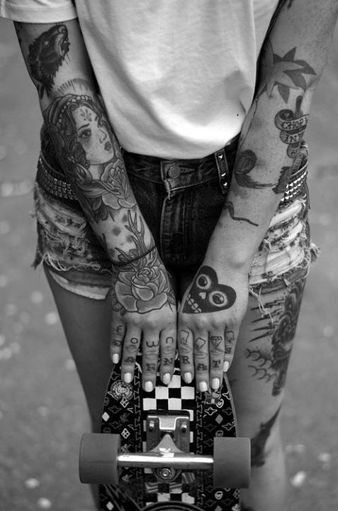 ifitsnotforeveritsfortonight:  tattoo ,  | via Tumblr bei @weheartit.com – http://whrt.it/15WbgmS