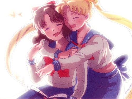 dianavigo:  I'm watching Sailor Moon right now <3 so I made a little fanart.