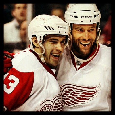 mattmanmcc1993:  Guess who's back tonight! Big Burt is!  Todd Bertuzzi is cleared to play, but won't dress unless there's an injury.