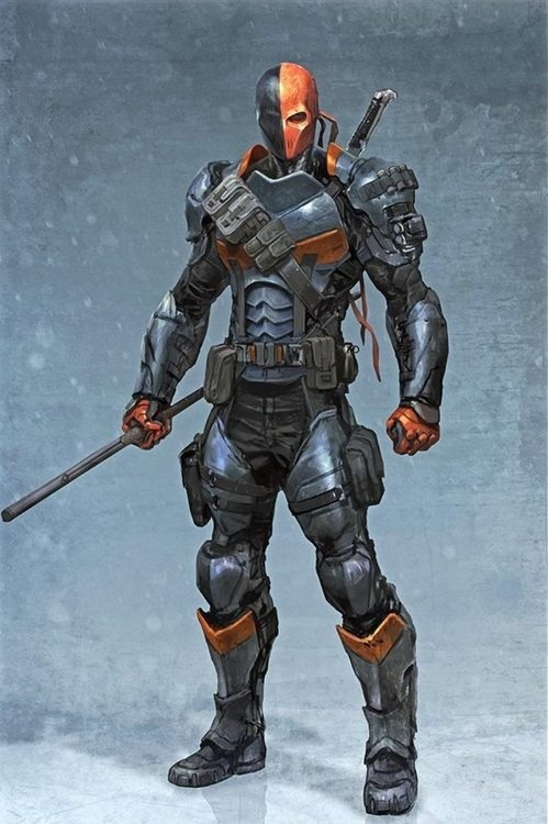 Okay, it's time Play Arts Kai does Deathstroke