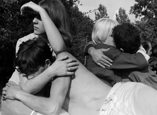 losed:  West Berlin, 1965, Youths in a park by Leonard Freed