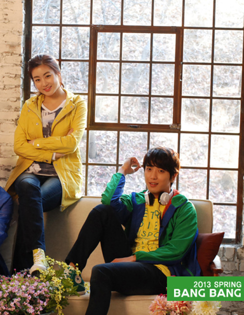 CN Blue and Kang Sora for Bang Bang Spring 2013 Catalogue