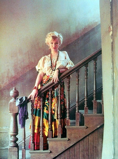 theniftyfifties:  Marilyn Monroe  MM
