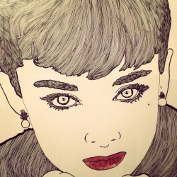 Commissioned work Audrey Hepburn - ink on paper Dog for Jerry Thomas - digital - adobe illustrator Dog for Rachel Thomas - digital - adobe illustrator Innovation in Construction for Aidan Hughes - digital - adobe illustrator