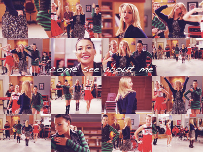 "garritylyla:  favorite song from each episode→'thanksgiving'   ""come see about me"""