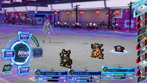 Went back to playing Digimon Story: Cyber Sleuth.This status effect is simultaneously annoying as hell and awesome. Dammit.
