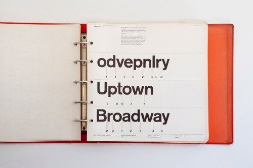 New York City Transit Authority Graphics Standards Manual (via New York City Transit Authority Graphics Standards Manual) via swissmiss