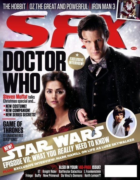 SFX 230 Featuring The Doctor Who Christmas Special