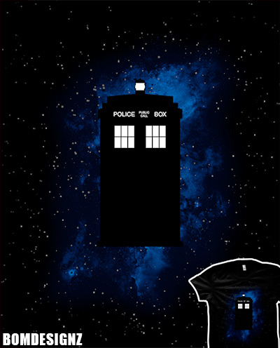 Box in space is Bomdesignz latest Doctor Who design that features a tardis lost in space. Its available as t-shirt, iphone case, ipad case, canvas, cards and much more right here.