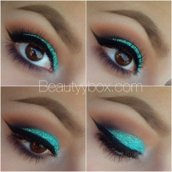 makeupftw:  source: beautyybox.com  Lindo!