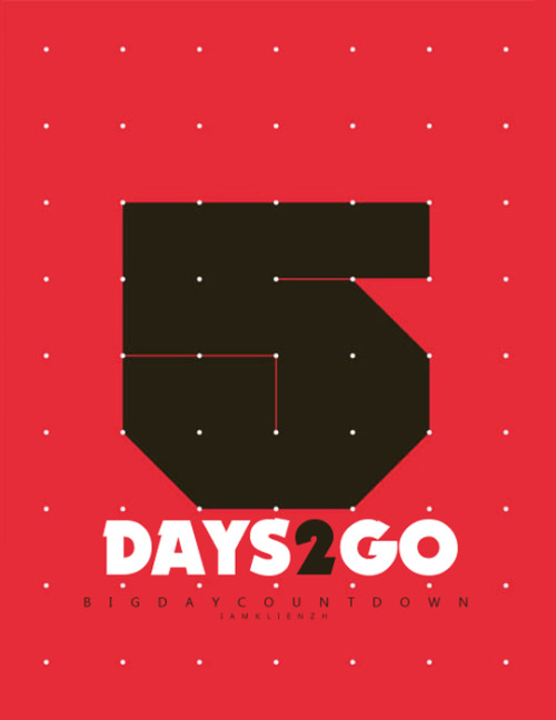 Countdown: 5 days to go!