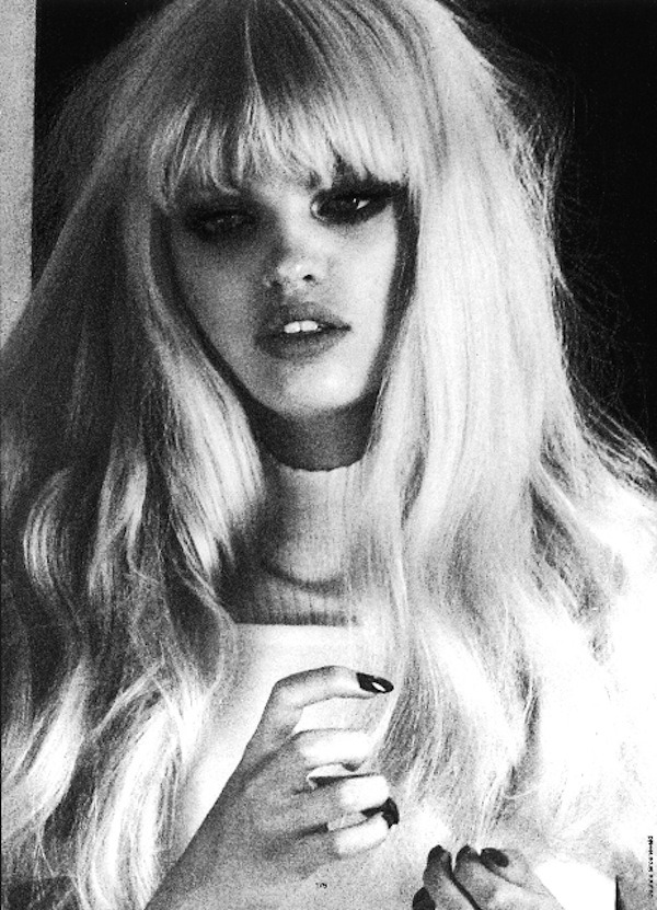 lilydesu:  l-acus:  daphne groeneveld by txema yeste for antidote, fw 2012.  daph looking perf as usual