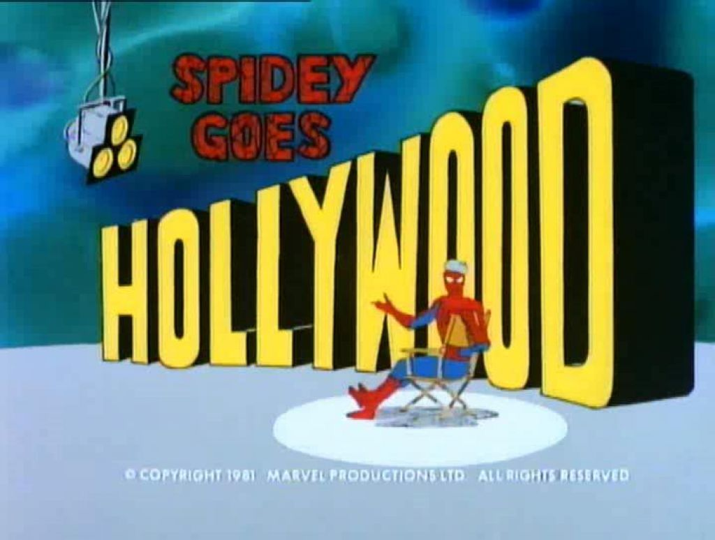 in-sequence:  Spidey goes Hollywood! from Spider-Man and His Amazing Friends-1981
