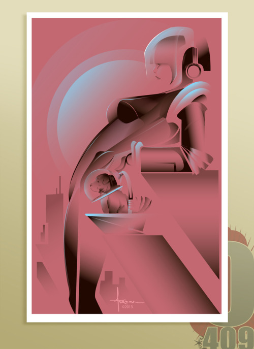 artforadults:  Orlando Arocena (arocena@olo409.com) submitted again, thanks and happy 2013. ————————- HAPPY NEW YEARS AFA!!!!Here's a vector illustration welcoming things to come in 2013.ANTICIPATION©2013AROCENA Saludos y buena suerte en todo lo que haces!