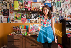 (via The Do Not Enter Diaries, a New Web Site, Documents Teen Bedrooms - NYTimes.com) I co-founded a website called The Do Not Enter Diaries and a very nice mustachioed gentleman came to interview me and my best friend/ co-founding partner in our bedrooms about it for The NY Times.