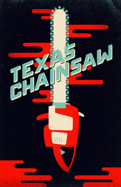 "The folks at AMP (Alternative Movie Posters) are having a Texas Chainsaw poster design contest. Pictured above is my 2nd entry. ""Teeth"" by Derek Eads"