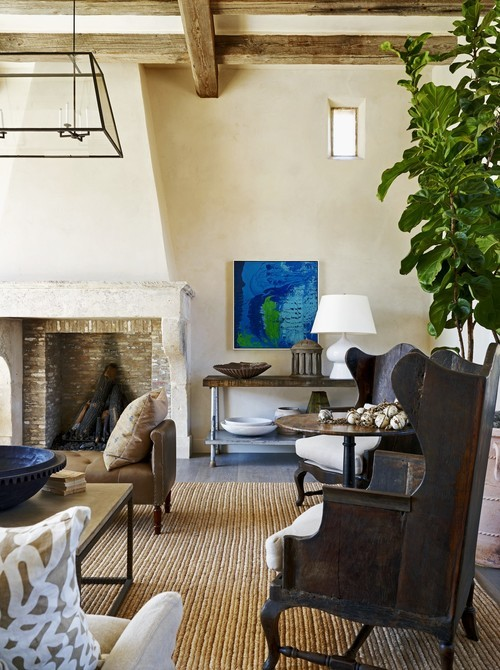 georgianadesign:  Rustic eclectic farmhouse, Phoenix. David Michael Miller Associates.