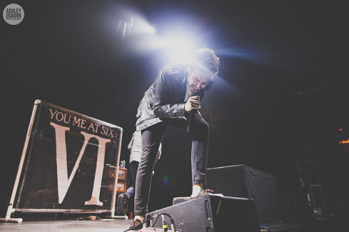 zackalltirnelow:  You Me At Six by Ashley Osborn on Flickr.