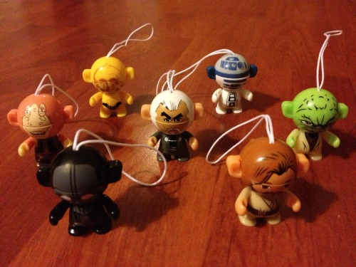 Star Wars Kinder Egg Toys