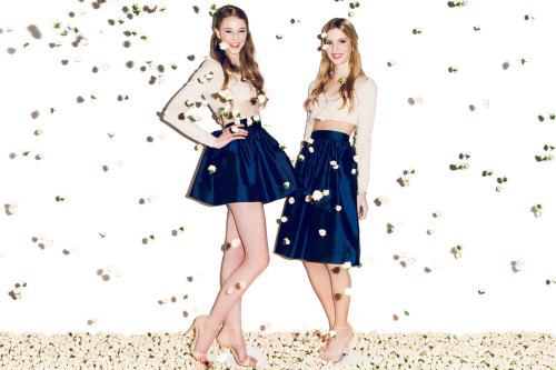 teenvogue:  A good twirly miniskirt is a must, and sisters Lauren and Mariel Armstrong have perfected the style. We talked with the duo designers of Partyskirts about their fun wardrobe staple »