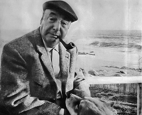 chicagopubliclibrary:  Chile Prepares To Exhume Pablo Neruda's Remains via NPR: The body of Chilean poet Pablo Neruda is scheduled to be exhumed Monday morning. He died days after the 1973 coup that killed his friend President Salvador Allende and ushered Gen. Augusto Pinochet to power. Neruda's driver alleges the poet was murdered by the Pinochet regime. In February, a court ordered his remains to be exhumed and examined for signs of poisoning, and preparations began Sunday at Neruda's tomb on the Chilean coast.