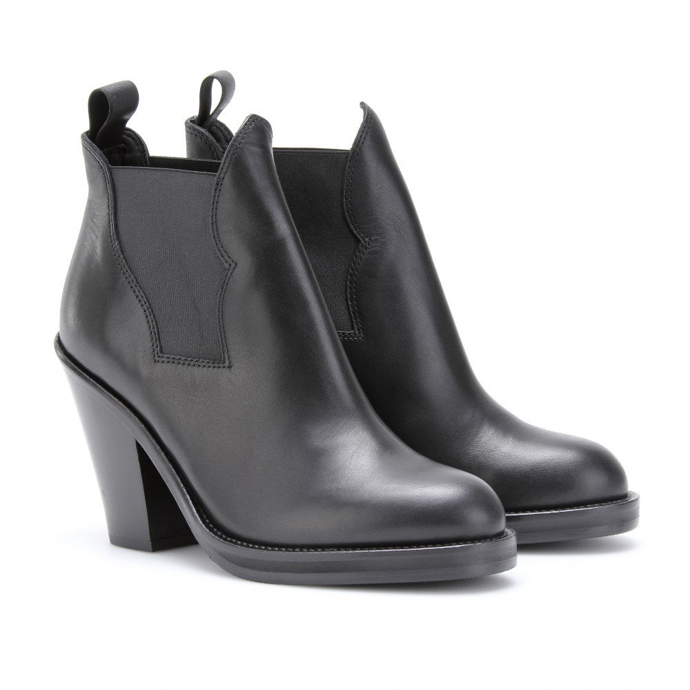 Acne Star Leather Boots