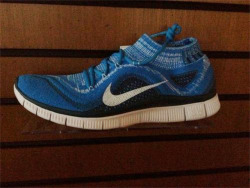upprvalley:  Nike Free Flyknit with sock on 5.0 sole. To be released in June/July 2013.
