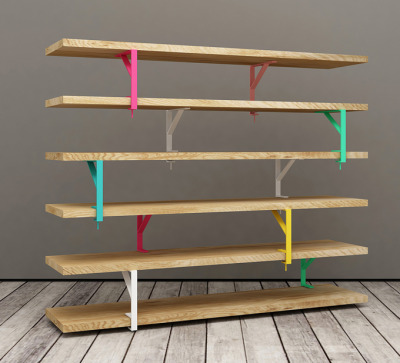 Unalibreria: IKEA shelf hack