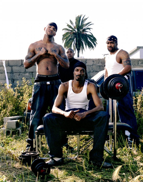 The Game, Snoop Dogg, Avante Rose & Glasses Malone. West Coast.
