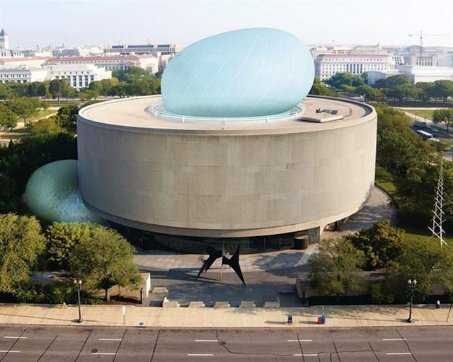 Diller Scofidio + Renfro blow up the Hirshhorn Museum WATCH
