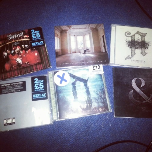 thesoundsofthewavescollide:  In my personal opinion. The best albums ever.