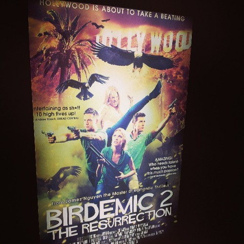 Star Trek Into Darkness was good… but THIS was so much better! #Birdemic2 #Chill (at TCL Chinese Theatre)