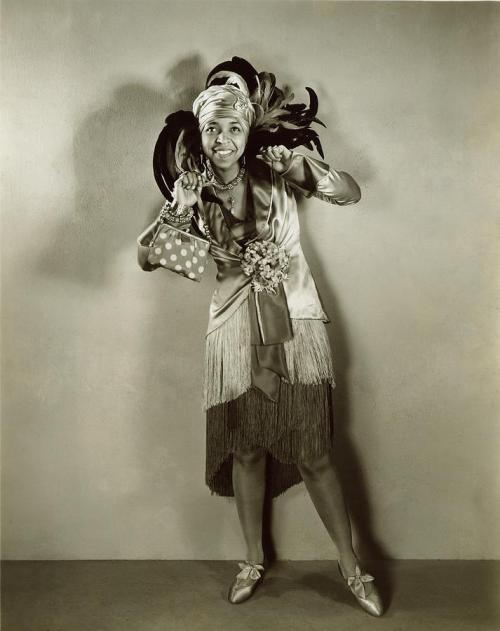 intothebeautifulnew:  Ethel Waters, singer & all around performer, in On With The Show, 1929.