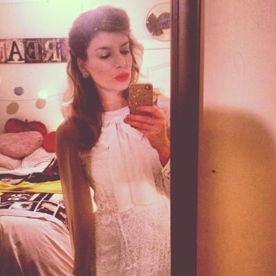 #whatimwearing TONIGHT #classy #elegant #vintage #dress from the #UK !  #fashion