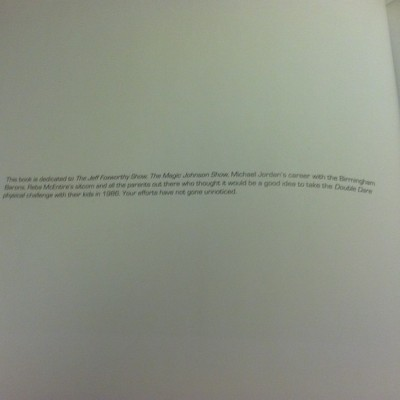 Best book dedication ever!