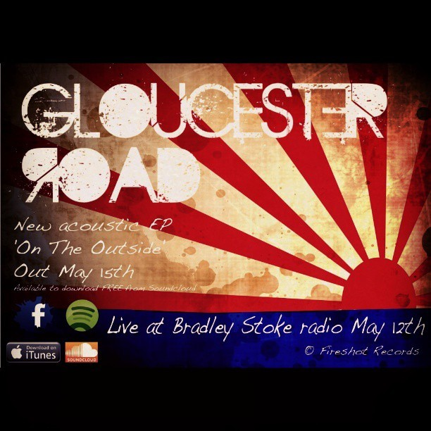 Gloucester Road New EP out May 15th! :) #gloucester #london #britain #bristol #uk #unitedkingdom #gloucesterroad #road #rock #andronesia #acoustic #android #album #EP #england #galaxygrand #guitar #greatbritain #music #musician #piano #studio #songwriter #singer #soundcloud #bradleystokeradio #bradleystoke