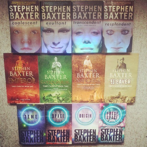 A good Stephen Baxter series cones in fours. #books #sf #sci-fi