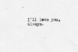 typewriter-words:  Bon Jovi - Always