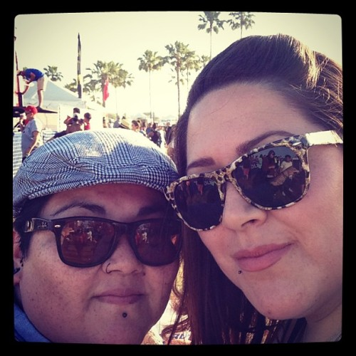 With my love @mozgrl31 ! #prettygirl  (at Long Beach Gay & Lesbian Pride)
