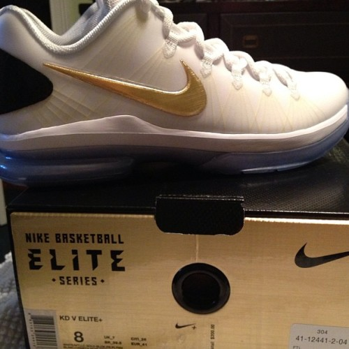 blckzackmorris:  The brand new #KevinDurants #EliteSeries #KDVELITE … Lol was kinda stressed out by @rusty8_04 lol