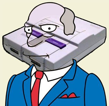 the-simpsons-blog:  Super Nintendo Chalmers click for more simpsons