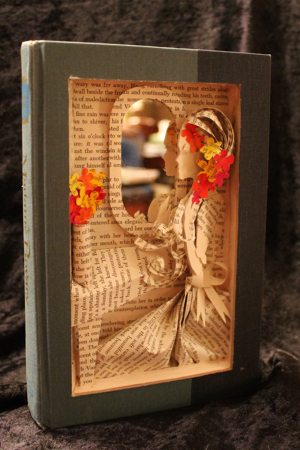 Madam Bovary Book Sculpture by Jodi Harvey-Brown