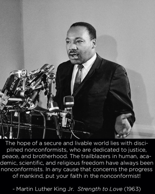 pfowolf:  fuckyeahmarxismleninism:  17 Martin Luther King Jr. Quotes You Never Hear  Well said, Sir. Well said.