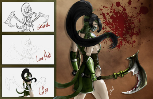 Akali League of Legends by ~johjohnfalcao