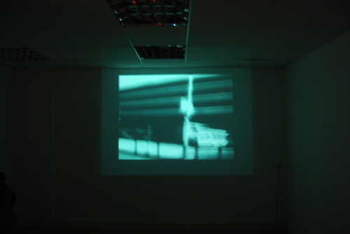 'End Times: Bus Station' a collaborative film between myself, Mark Patrick Oughton and Robbie Judkins, showing at the In Certain Places 'Revisiting Utopia' exhibition.