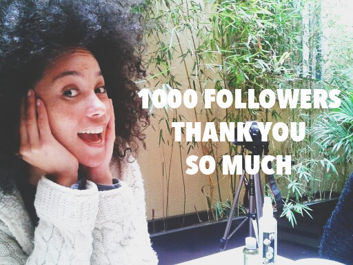 curly-essence:  thank you so much! we are now more than 1000, with the hope of growing even more! curly essence is so recent and has this wonderful feedback so far. thank you all for real!follow curly essence and our journey - http://www.curlyessence.blogspot.com