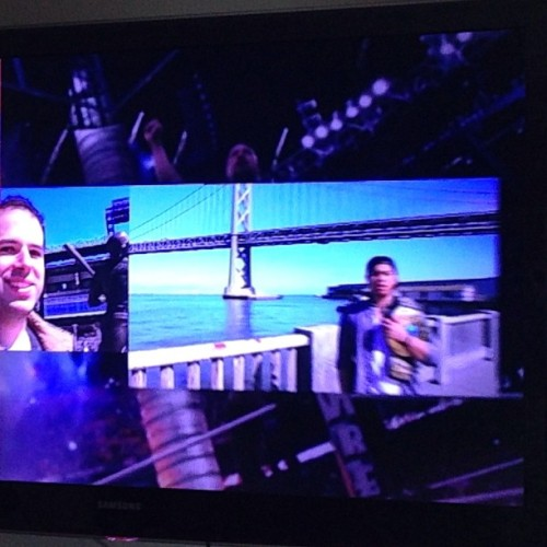 made it on the rock's video feature for #wrestlemania. thank u frances!!!